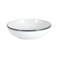 Pickard China Signature White China Body Platinum With No Monogram Cereal Bowl