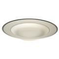 Pickard China Signature Ivory China Body Platinum With No Monogram Pattern Pasta Bowl