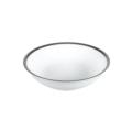 Pickard China Signature White China Body Platinum With No Monogram Fruit Dish