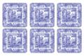 Blue Italian Coasters