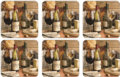 Pimpernel Artisanal Wine Coasters