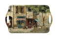 Parisian Scenes Large Melamine Handled Tray