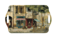 Pimpernel Parisian Scenes Large Melamine Handled Tray