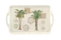 Vintage Palm Study Large Melamine Handled Tray