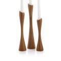 Nambé Grove Candlesticks (set of 3)
