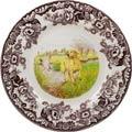 Dinner Plate 10.5 inch (Yellow Labrador Retriever)