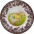 Yellow Labrador Retriever Salad Plate