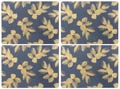 $40.00 Large Placemats - Set of 4 Navy