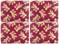 $40.00 Large Placemats - Set of 4 Pink