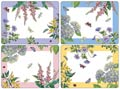 Pimpernel Placemats, Coasters, & Trays Floral Botanic Garden Terrace Placemats - Set of 4