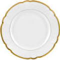 The Pine Needle Exclusives Robert Haviland Collette Gold dinner Plate