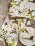 35 Table Runner-Holiday Botanical
