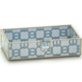96 Blue Chain Guest Towel Holder