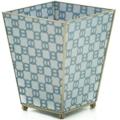 178 Blue Chain Waste Basket