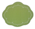 $88.00 Set of 4 Oval Placemats - Green