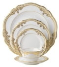 $100.00 Stafford White Bread and Butter Plate