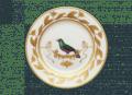 Richard Ginori 1735 Dessert Plate Voliere Merle Vert