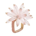 Kim Seybert Flower Napkin Ring - Gold