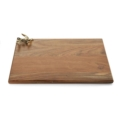 $165.00 Michael Aram Olive Branch Gold Oversized Wood Serving Board
