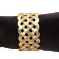 L'Objet Napkin Rings Braid Gold Napkin Rings