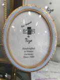 $87.00 Tizo Baby Blue Bronze Oval Frame
