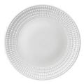 L'Objet Perlee White  Perlee White Round Platter