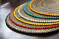 Calaisio Round Placemats with Beads