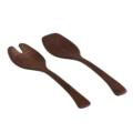 65 Andrew Pearce Salad Servers in Black Walnut