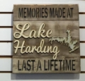 $39.00 Memories at the Lake 14x14(Customize)
