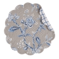 C & F Home Placemat Annabelle Blue