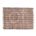 C & F Home Placemat Rectangle Loom Brown