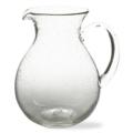 $35.00 Pitcher Bubble Glass