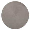 $5.00 Placemat Round Woven Gray