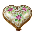 Rochard Limoges Hearts Heart Tapestry Rose