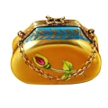 Rochard Limoges Ladies Accessories Gold Handbag