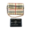 Rochard Limoges Ladies Accessories BURBERRY PURSE WITH BLACK AMERICAN