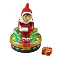 Rochard Limoges Christmas Elf With Package