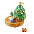 Rochard Limoges Christmas Christmas Tree With Nativity
