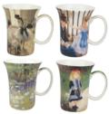 $0.00 Impressionists Set of 4 Mugs