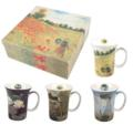 $0.00 Monet Set of 4 Mugs
