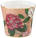 Raynaud Trésor Fleuri Beige Rhododendron Candle pot