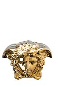 Versace by Rosenthal Medusa Grande Vase 8 1/4 in Gold