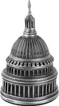 Salisbury Office Capitol Dome Paper Weight