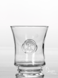 Skyros Designs Legado Glass  DOF / Juice - Hand Stamped Initial