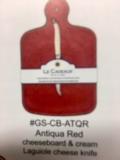 $38.00 antiqua red cheese board