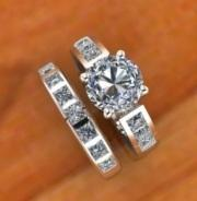 $1,000.00 remount of customeer's diamonds