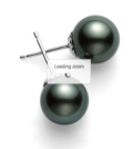 $1,120.00 Black South Sea Pearl Studs