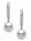 $1,400.00 7.5mm Pearls with Diamonds