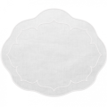 SOUTH Exclusives Linho Placemat Oval, Grey