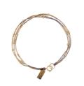 Abacus Row Ara Bracelet - Grey